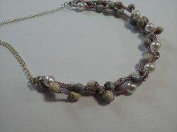 画像2: 数珠玉ネックレス(F)