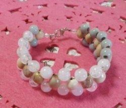 画像2: 数珠玉ブレスレット
