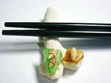 珊瑚箸置き