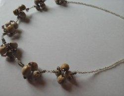 画像3: 数珠玉ネックレス(G)