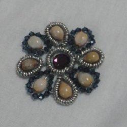 画像2: 数珠玉ネックレス(H)