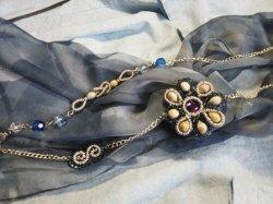 画像1: 数珠玉ネックレス(H)