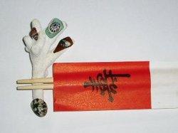 画像3: 珊瑚箸置(シーグラス・5個組)